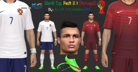 PES 2014 World Cup Pack V.1 (Portugal)