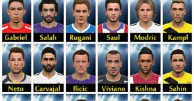 PES 2015 Facepack Vol 4