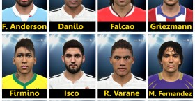PES 2015 Facepack Vol 5