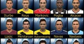 PES 2015 facepack vol.3 by Sameh Momen