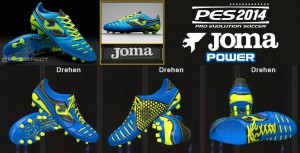 PEs 2014 Joma Power FG Bootpacks Navy Lime Colours