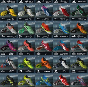 Pack of (60) Boots Pes 2011 - V11 Full HD - 2