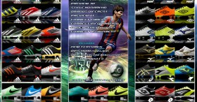 Pack of (60) Boots Pes 2011 - V11 Full HD