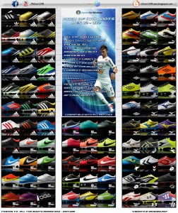 Pack of (81) Boots Pes 2012 - V12 Full HD