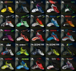 Pack of (81) Boots Pes 2013 - V4 Full HD - 2