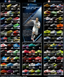 Pack of (81) Boots Pes 2013 - V4 Full HD
