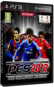 Pes 2012 PS3 Cover