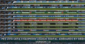 UCL 2014 Digital Adboards by db89
