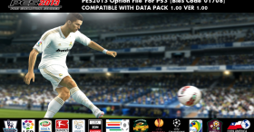 WENB PES2013 Option File - EU VERSION (BLES-01708)