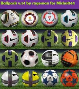 Ballpack for pes 2011