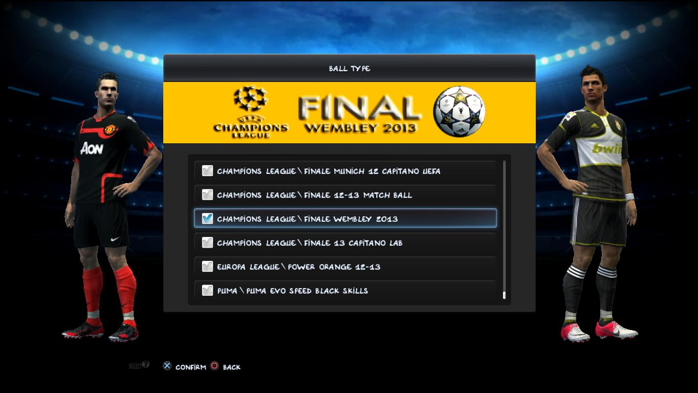 PES 2013 Final Wembley 2013 OMB by Ginda01