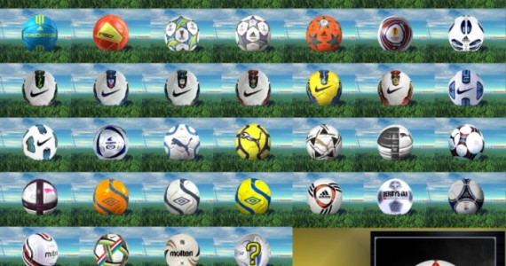 pes 2012 ballpacks