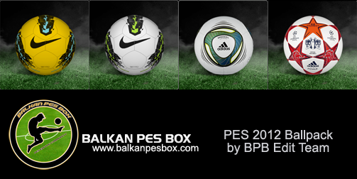 pes 2012 demo ballpacks