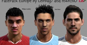 pes 2013 europe facepack