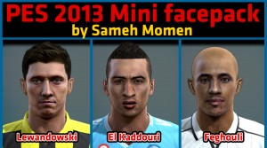 pes 2013 mini facepack sameh momen