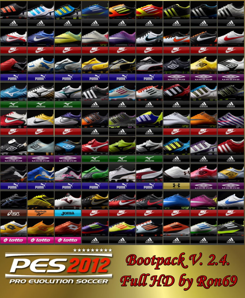 pes 2013 bootpack 2.0 by ron69