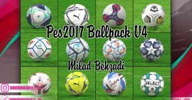 New Ballpack Vers. 5 For PES2017 by milad behzadi