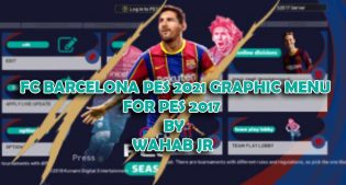 Preview PES2021 Graphic Menu For PES2017