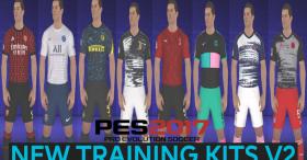 New Training Kits V2 For PES 2017
