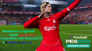Abdulaziz Legends Pack PES 2021