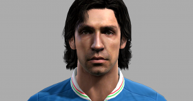 Andréa Pirlo Face for PES 2012