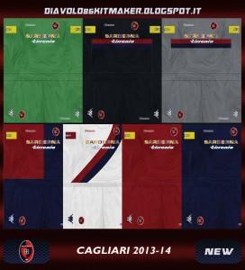 Cagliari GDB KIT 13-14