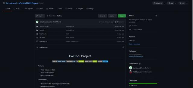 EvoTool 0.0.0.1 For eFootball 2022