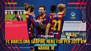 Barcelona 2021 Graphic Menu PES 2017