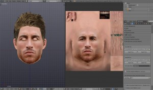 Face-Hair Modifier Tool
