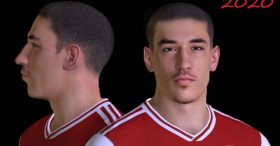 Hector Bellerin Face For Pes 2017 By Nimaesf