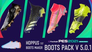 Hoppus 117 PES 2021 Bootspack 5.0.1