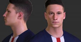 Julian Draxler Face For Pes 2017 By Nimaesf