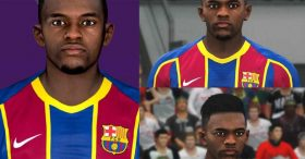 Nelson Semedo Face For Pes 2017 By Ramin RB7