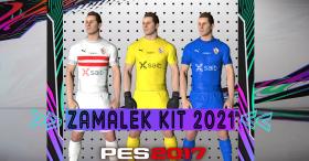 New Zamalek Kit 2021 For PES 2017
