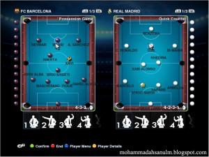 PES 2013 8 Ball Pool (Billiard) Gameplan