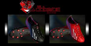 PES 2013 Adizero III 2 colorways Boots