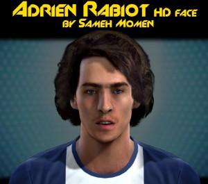 PES 2013 Adrien Rabiot HD Face by Sameh Momen
