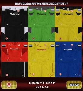 PES 2013 Cardiff City GDB Kitset 13-14