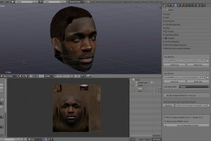 PES 2013 Face-Hair Modifier Tool v1.4 for Blender 2.67