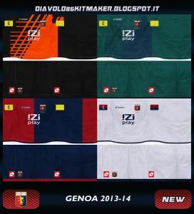 PES 2013 Genoa GDB Kitset 13-14