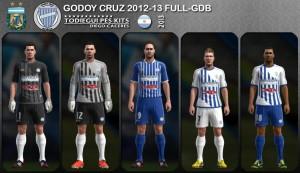 PES 2013 Godoy Cruz 2012-2013 Full GDB Kits