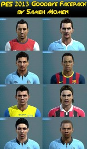 PES 2013 Goodbye Facepack