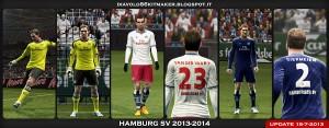 PES 2013 Hamburg SV Updated GDB Kit 13-14