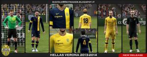 PES 2013 Hellas Verona 2013-2014 Kits