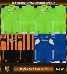 PES 2013 Hull City GDB Kitset 13-14
