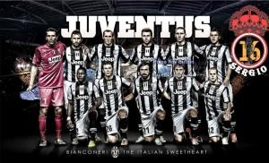 PES 2013 Juventus Start Screen Graphic
