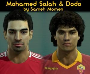 PES 2013  M.Salah & Dodo HD Faces