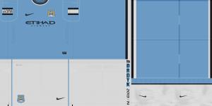 PES 2013 Manchester City 2013-2014 Kits - 2