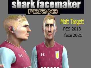 PES 2013 Matt Targett Face