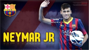 PES 2013 Neymar JR Start Screen